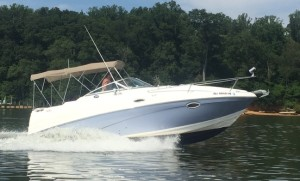 Rinker 250 Express Cruiser 2007 w/trailer Click on photo for more information.
