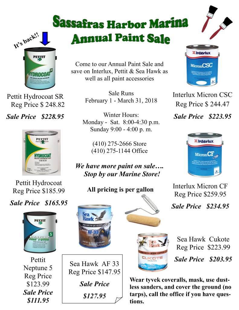 Paint Sale 2018